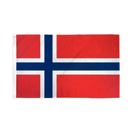 Norway Flag - 3' X 5' - Super Polyester (Nor-35)