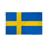 Sweden Flag - 3' X 5' - Super Polyester (Swe-35)