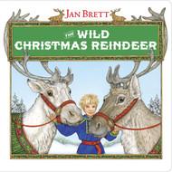 Wild Christmas Reindeer - Paperback Book - By Jann Brett (16526)
