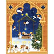 Caspari Advent Calendar - Angels Christmas (ADV247)