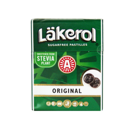 Lakerol - Original Menthol Licorice Mints (22501)