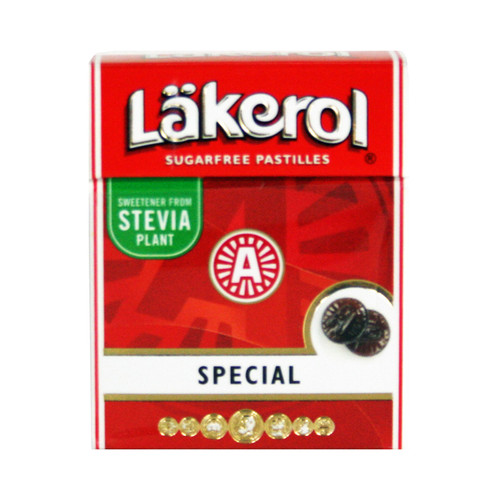 Lakerol - Special Menthol Licorice Mints (22502)
