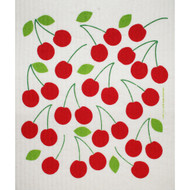 Swedish Dishcloth - Cherries (218.51)