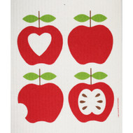 Swedish Dishcloth - Four Apples (218.57)