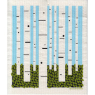 Swedish Dishcloth - Birch Forest (218.72)
