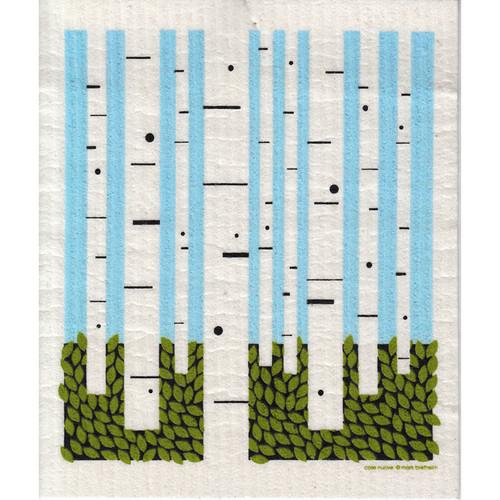Swedish Dishcloth - Birch Forest (218.72)