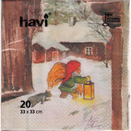 Farm Tomte Finnish Paper Napkins - 20 Pack (270.48)