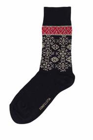 Bengt & Lotta Woolen Socks - Fjallnas - Black (710808)