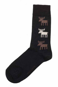 Bengt & Lotta Woolen Socks - Moose - Black (711208)