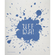 Swedish Dishcloth - Uff Da (215B)