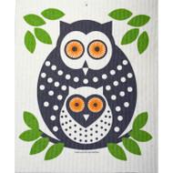Swedish Dishcloth - Owl (218.35G)