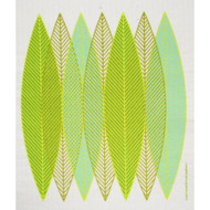 Swedish Dishcloth - Blade Leaves Green (218.41G)