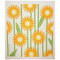 Swedish Dishcloth - Daisies - Yellow (218.89Y)