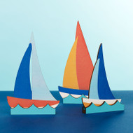 Sailboats - Set of 3 (8813017)