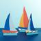 Sailboats - Set of 3 (8813017)