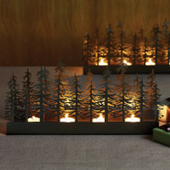 Nordic Trees Tealight Candle Holder (8820309)