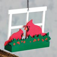 Cardinals Ornament - Wooden (8821455)