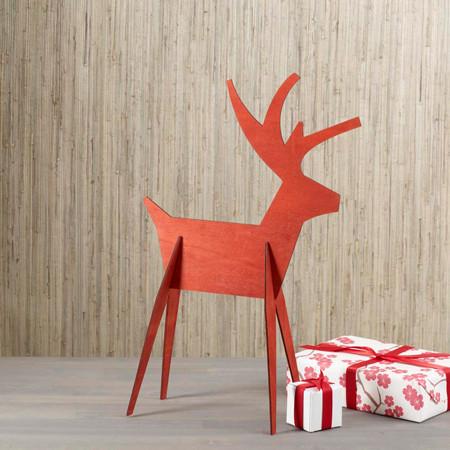 Alpine Reindeer - Medium - Red (8821722)