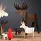 Alpine Moose - Set/4-Natural (8821798)