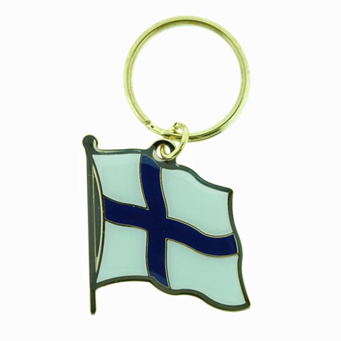 Finland Flag Keyring