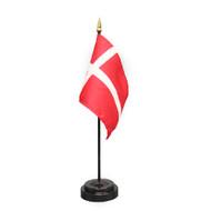 Danish/Denmark Table Flag (TF-D)