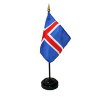Iceland Table Flag (TF-I)