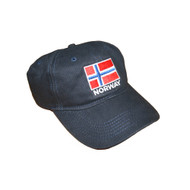 Norway Flag Embroidered Cap/Golf Hat (GC-N)
