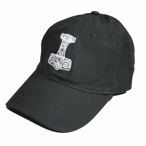 Thor's Hammer Embroidered Golf Hat/Baseball Cap (GC-T)
