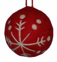 Red Felt Ornament (H1-1064R)