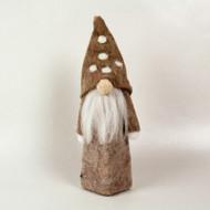 Tomte Nisse Santa - Woodland Brown (H1-989B)
