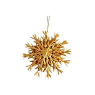 "Straw Snowflake Ornament - 6"" (H1-529-6)"