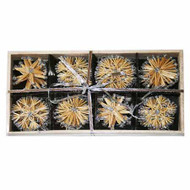 Straw Ornaments in Wooden Box (H1-57)