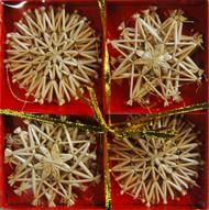 Straw Star Ornaments (H1-62)