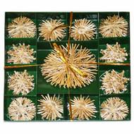 Straw Star Ornament Boxed Set (H1-77)