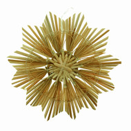 Straw Snowflake/Star Ornament - 7""