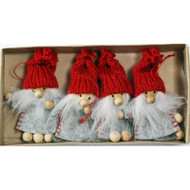 Tomte Christmas Ornament 4-Pack (H1-902)