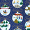 """Christmas Wrapping Paper - Ornaments - 23"""" x 72"""" (15632)"""