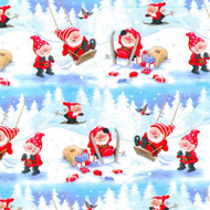 "Christmas Wrapping Paper - Winter Games - 23"" x 72"" (16591)"