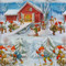 """Wrapping Paper - Christmas Santa-Tomte 23"""" x 72"""" (98430)"""
