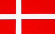 Denmark Flag Decal (546)
