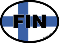 Finland Car Decal (3260)
