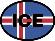 Iceland Car Decal (3280)
