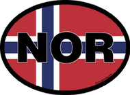 Norway Car Decal (3333)
