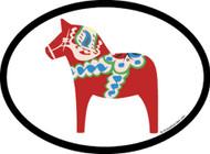 Dala Horse Car Decal (OD-H)