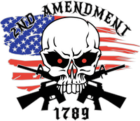 2nd Amendment 8x7 window sticker
