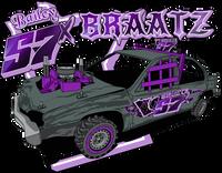 Bailey Braatz 8x6 window sticker car