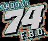 Gunner Brooks Window Sticker 7 inch