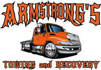 Armstrongs Towing And Recovery 5x7 Window Sticker