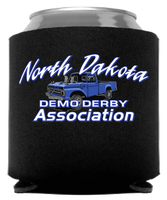 North Dakota Demo Derby  Blue Truck Coolie