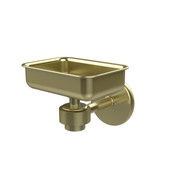 Allied Brass 7132-SBR  Soap Dish with Glass Liner, Satin Brass